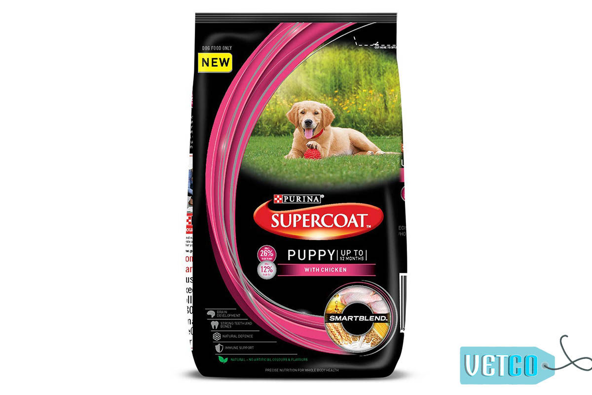 Purina Supercoat Puppy Dry Dog Food (All Breeds)