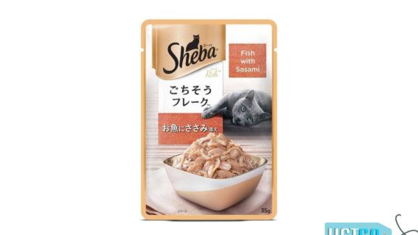 Sheba Wet Cat Food Fish with Sasami (12 Packs)