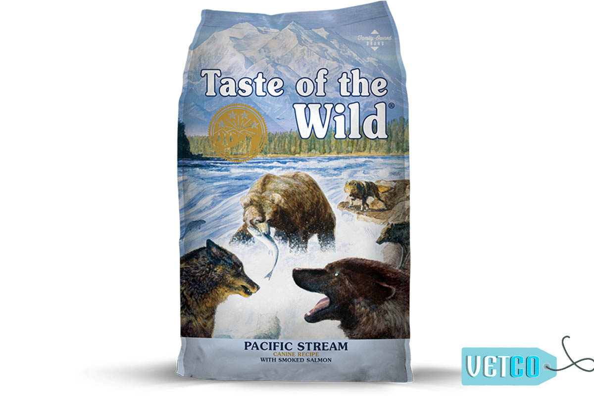 Taste of the Wild Pacific Stream Grain-Free Adult Dry Dog Food (All Breeds & Sizes)