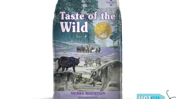 Taste of the Wild Sierra Mountain Grain-Free Adult Dry Dog Food (All Breeds & Sizes)