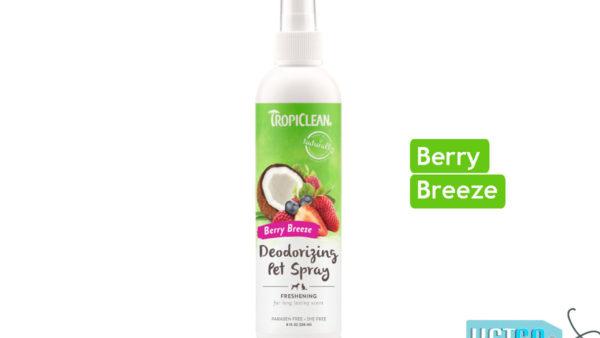 TropiClean Berry Breeze Deodorizing Dog & Cat Spray