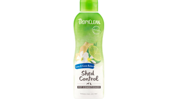 TropiClean Lime & Cocoa Butter Deshedding Dog Conditioner, 355 ml