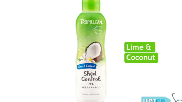 TropiClean Lime & Coconut Deshedding Dog Shampoo, 355 ml