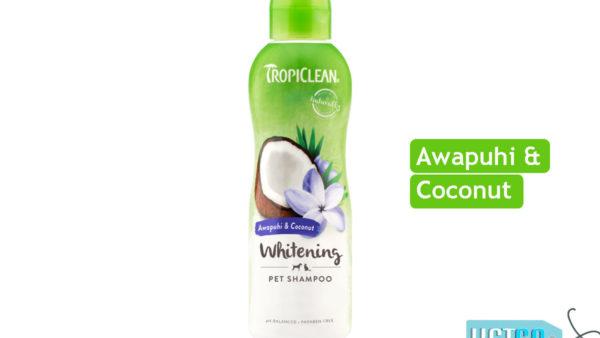 TropiClean Whitening Awapuhi & Coconut Dog Shampoo, 355 ml