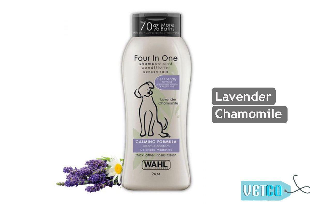 Wahl Four in One Calming Formula Dog Shampoo