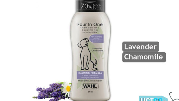 Wahl Four in One Calming Formula Dog Shampoo