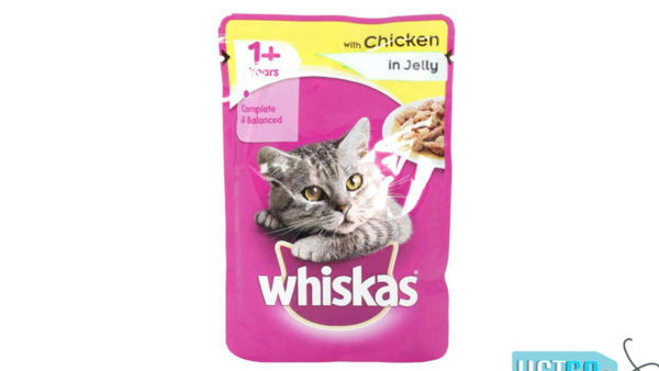 Whiskas Wet Meal Chicken in Jelly for Adult Cats, 1.02 kg