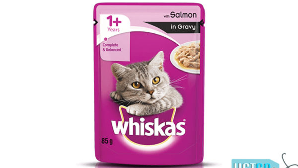 Whiskas Wet Meal Salmon in Gravy for Adult Cats, 1.02 kg