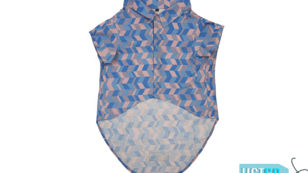 Mutt Ofcourse Light Geometrical Dog Shirt