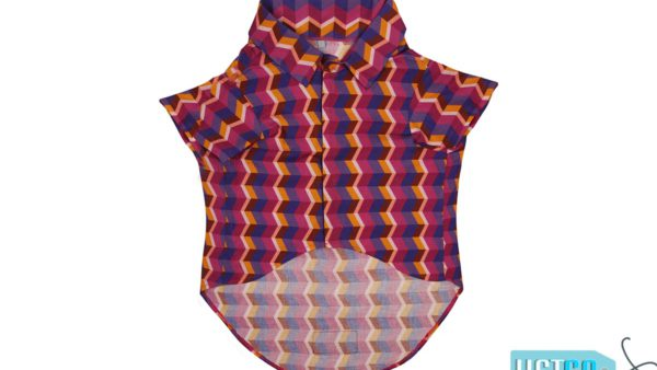 Mutt Ofcourse Dark Geometrical Dog Shirt