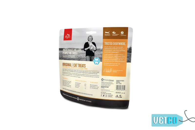 Orjen Premium Quality Original Freeze-Dried Cat Treats, 35 gms