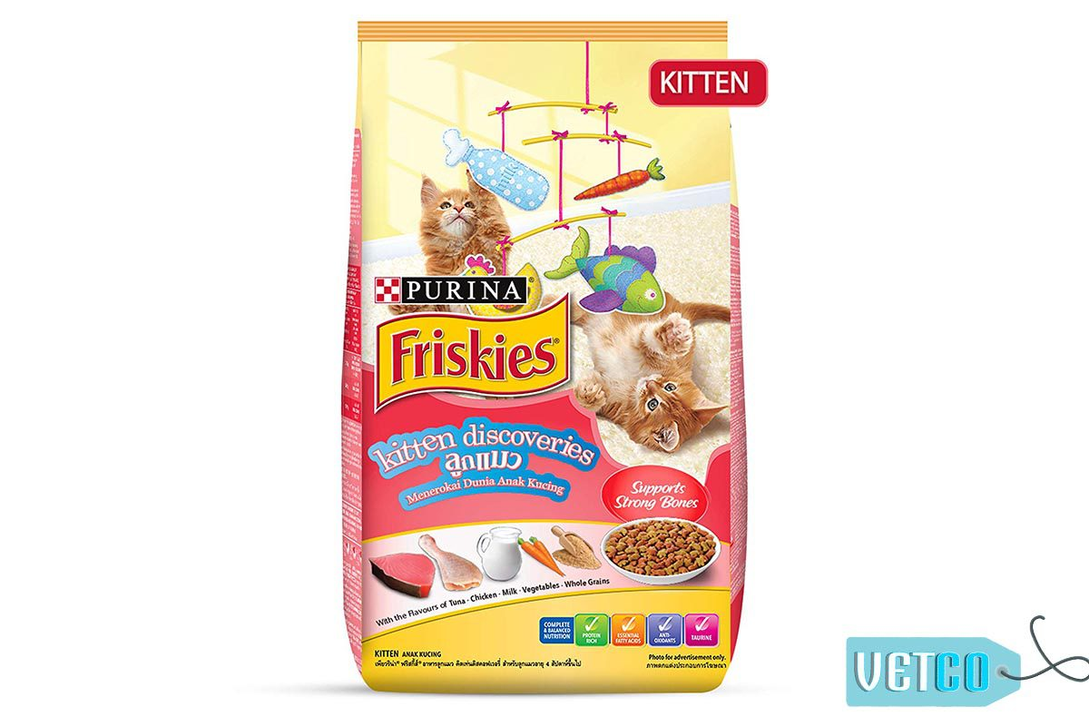 Purina Friskies Kitten Discoveries Dry Food