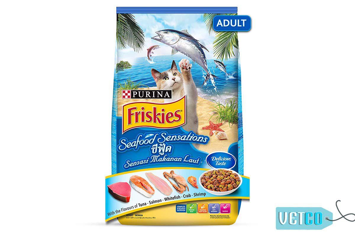 Purina Friskies Seafood Sensations Adult Cat Dry Food 11