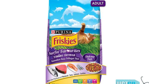 Purina Friskies Surfin' Favourites Adult Cat Dry Food