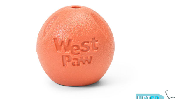 West Paw Zogoflex Echo Rando Dog Toy - Orange