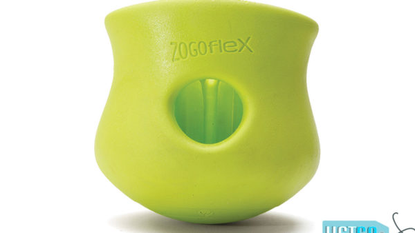 West Paw Zogoflex Toppl Dog Toy - Green