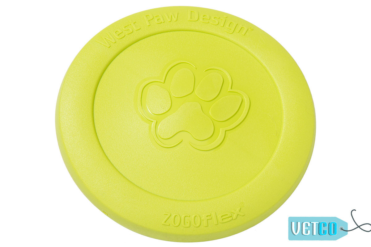 West Paw Zogoflex Zisc Dog Toy - Green