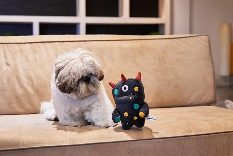 Zee Dog Alien Flex Ghim Dog Toy4