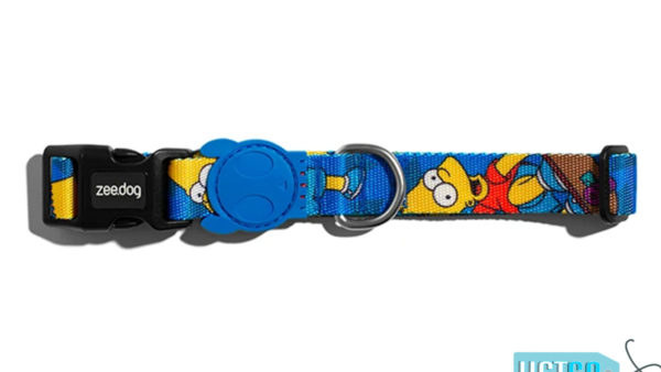 Zee Dog Bart Simpson Dog Collar