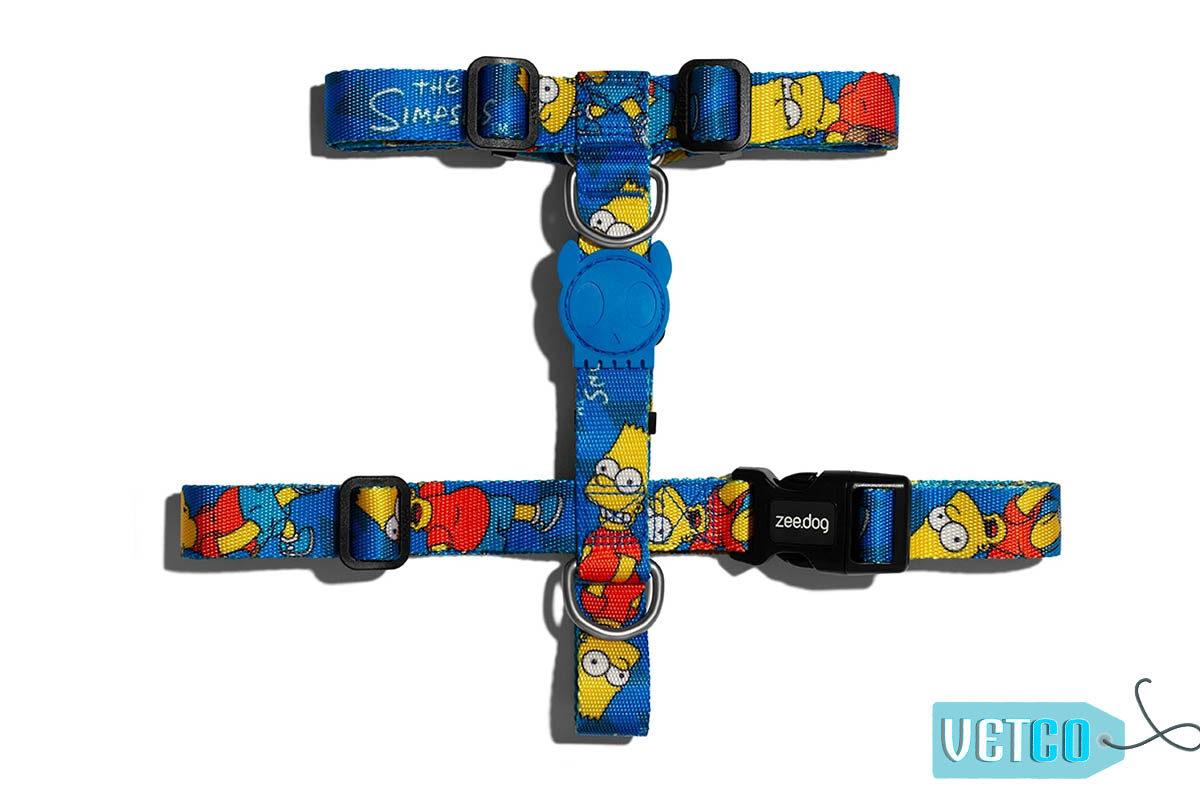 Zee.Dog Bart Simpson Dog H-Harness