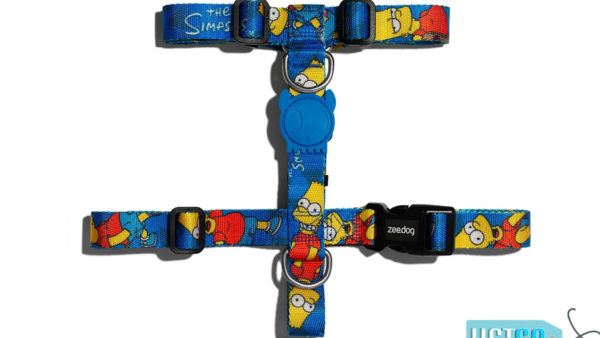Zee.Dog Bart Simpson Dog H-Harness