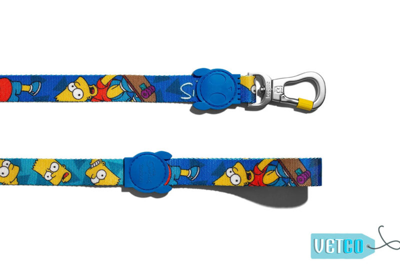 Zee Dog Bart Simpson Dog leash