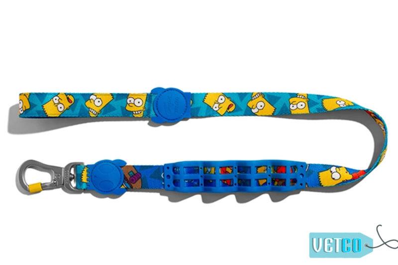 Zee Dog Bart Simpson Dog ruff leash