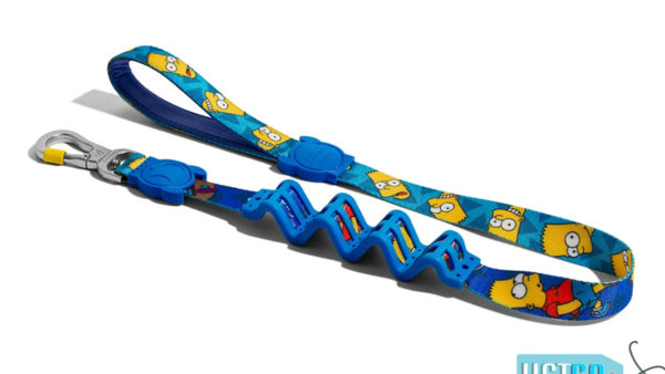 Zee Dog Bart Simpson Dog ruff leash