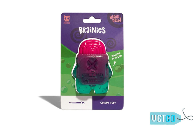 Zee.Dog Brain Dead Dog Toy