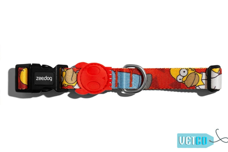 Zee Dog Homer Simpson Dog Collar