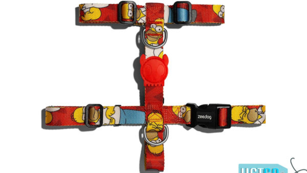 Zee Dog Homer Simpson Dog H Harness