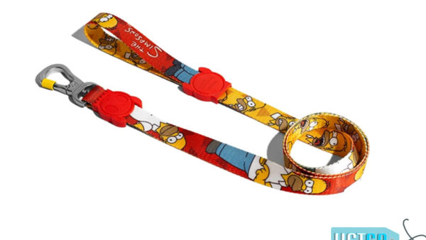 Zee Dog Homer Simpson Dog Leash