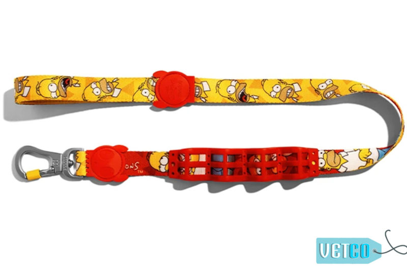 Zee Dog Homer Simpson Dog Ruff Leash
