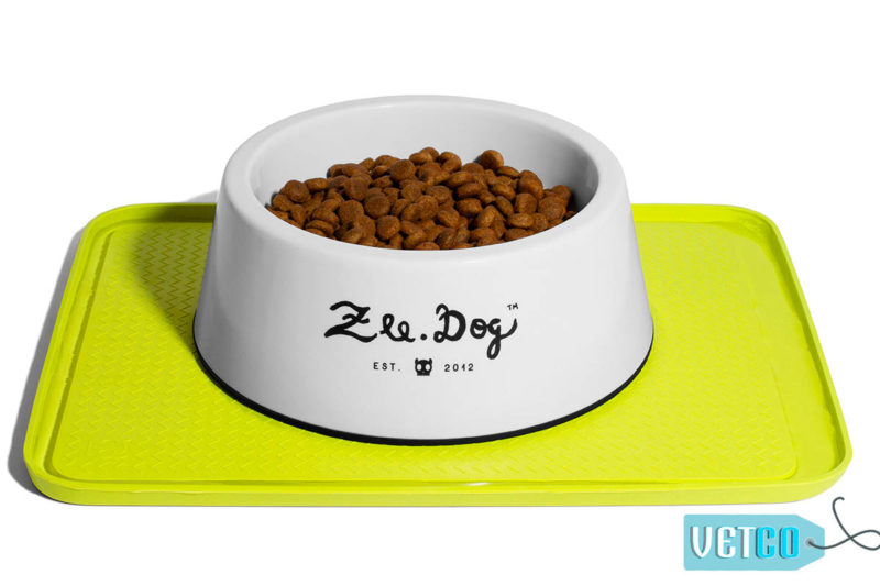 Zee Dog Zee Mat Anti-Slip Feeding Mat – Lime