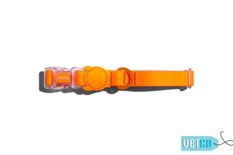 ZeeDog NeoPro Tangerine Weatherproof Dog Collar