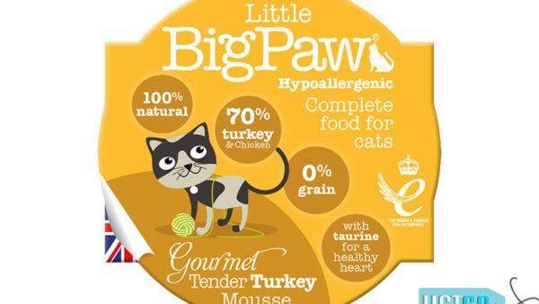 Little BigPaw Gourmet Tender Duck Mousse Wet Cat Food (Pack of 8)