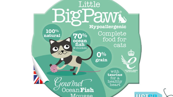 Little BigPaw Gourmet Ocean Fish Mousse Wet Cat Food (Pack of 8)
