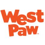 West Paw Zogoflex Toppl Dog Toy - Tangerine