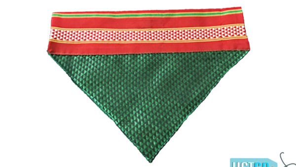 FFK Marathi-Bandana-for-Dogs-Green