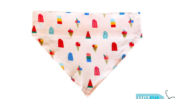 FTFK I Love Ice Cream Dog & Cat Bandana