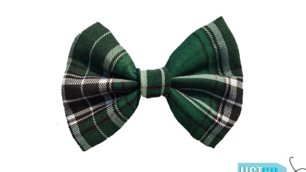 Hazel & Co Emerald Bow Tie For Dogs