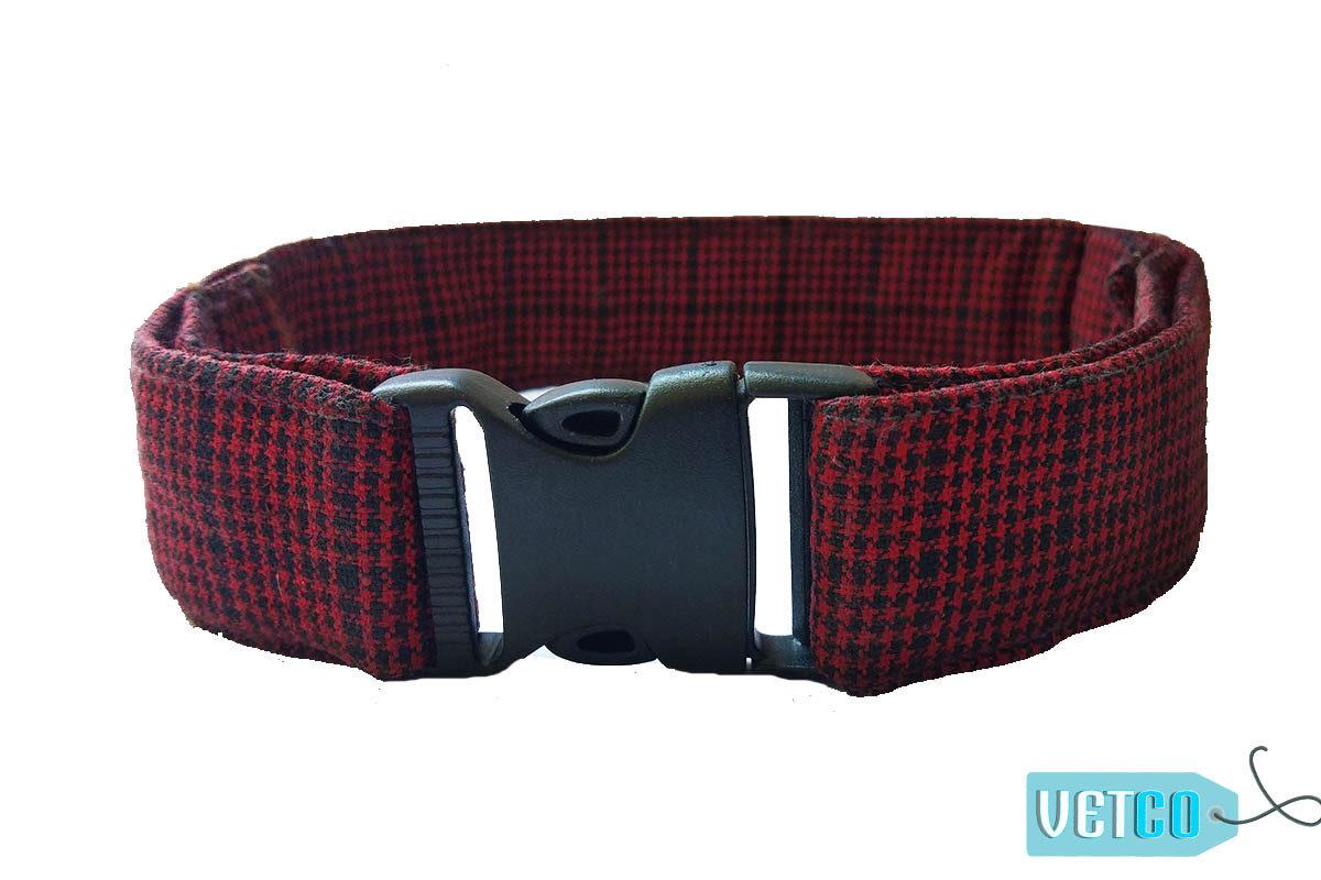 Hazel & Co Hellfire Adjustable Dog Collar