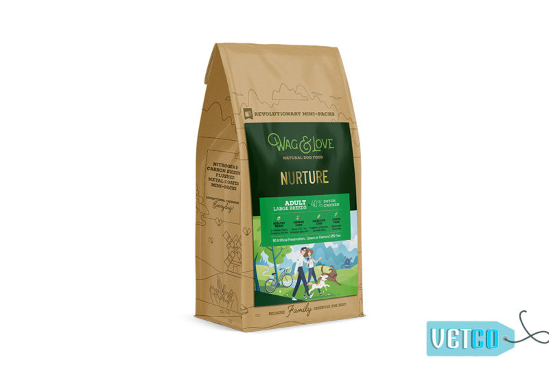 Wag & Love Nurture Adult Dry Dog Food (Large & Giant Breeds)