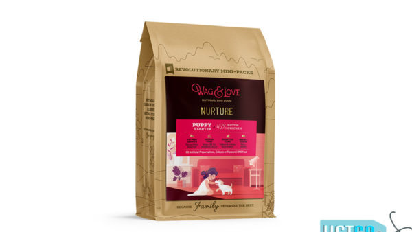 Wag & Love Nurture Puppy Dry Dog Food (Starter & Small Breeds)