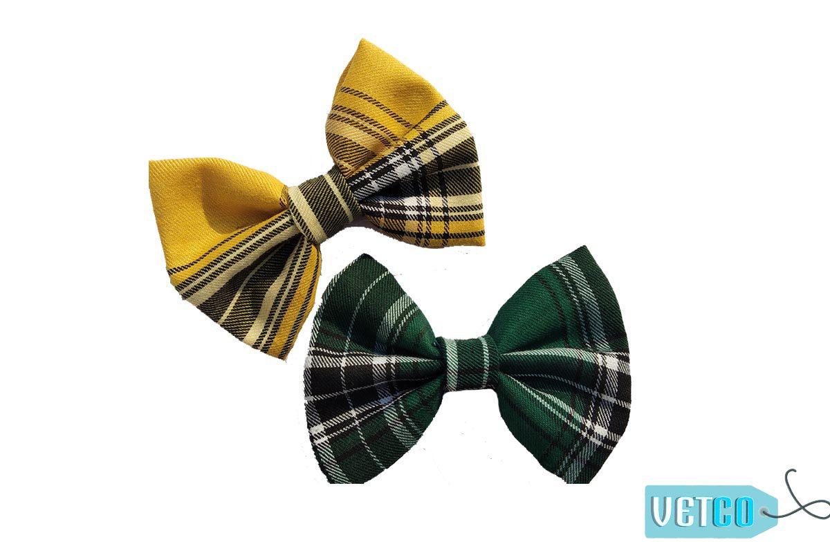 Yellow Sea Emerald Bowtie Set