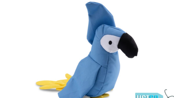 Beco Pets Lucy The Parrot Dog Toy
