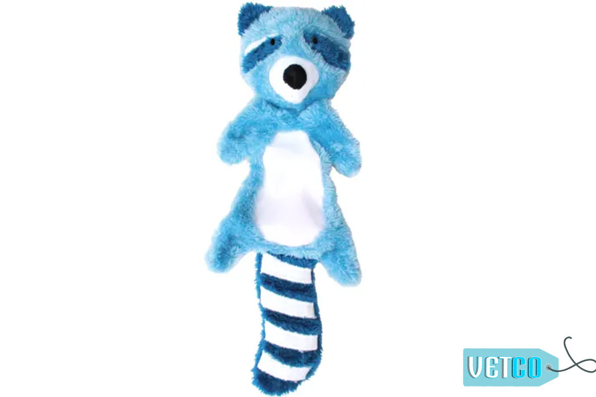 Beco Pets Ricky the Raccoon Stuffing Free Dog Toy