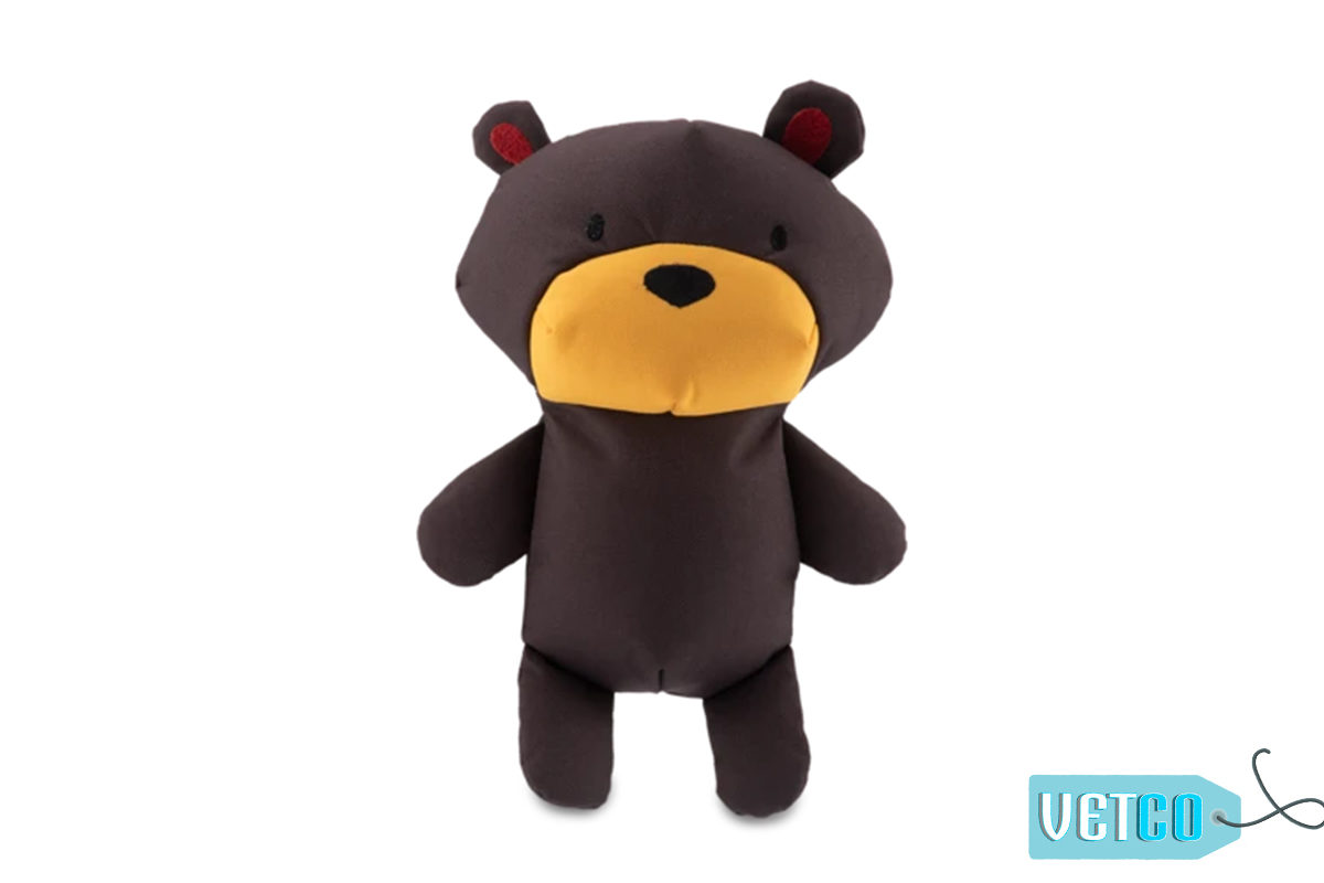 Beco Pets Toby The Teddy Stuffed Dog Toy