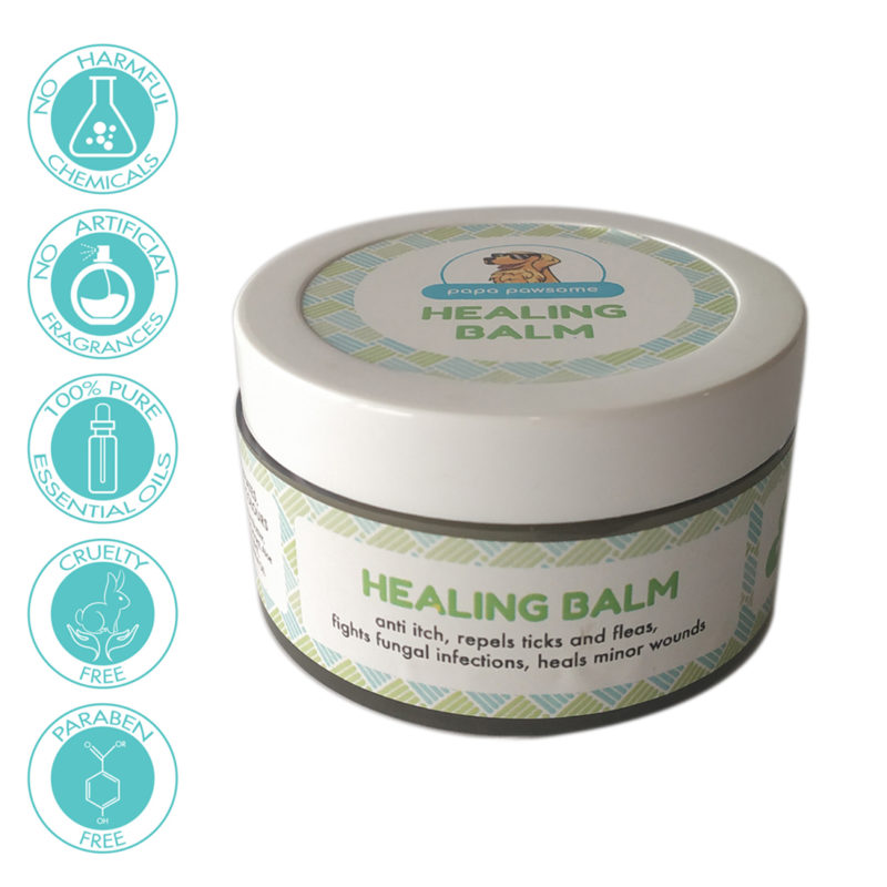 Papa Pawsome 100% Natural Healing Balm for Dogs