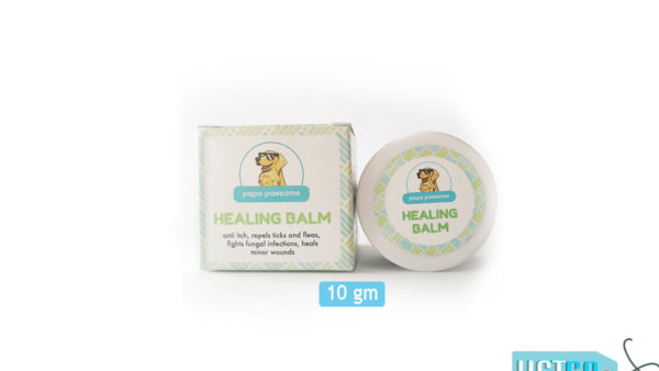 Papa Pawsome 100% Natural Healing Balm for Dogs, 10 gms